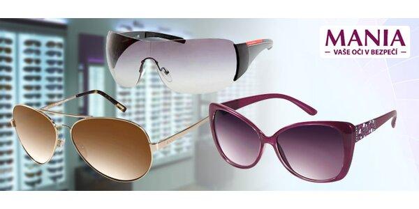 25 % zľava na slnečné okuliare