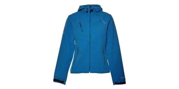 Dámska svetlo modrá softshellová bunda Trimm