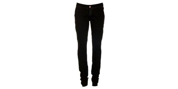 Dámske čierne skinny džínsy ZU elements