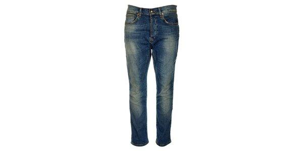 Dámske vyšisované džínsy ZU elements
