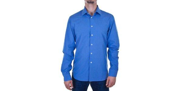 Pánska nebesky modrá košeľa Calvin Klein