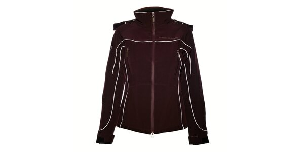 Dámska tmavo fialová softshellová bunda Trimm