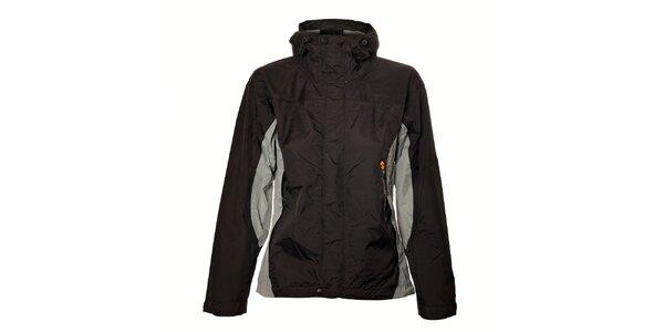 Dámska čierno-šedá bunda Trimm