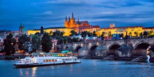 Romantická plavba po rieke Vltava v Prahe
