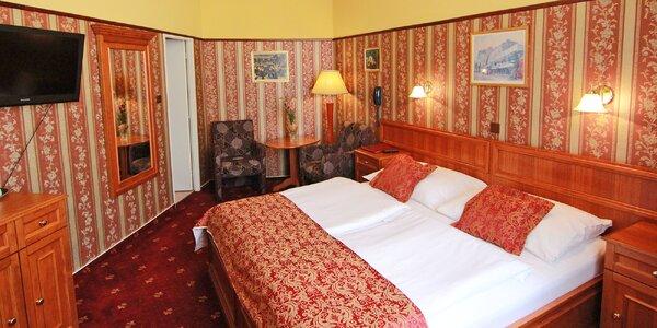 Romantika v Prahe: elegantný hotel v srdci starého mesta s raňajkami
