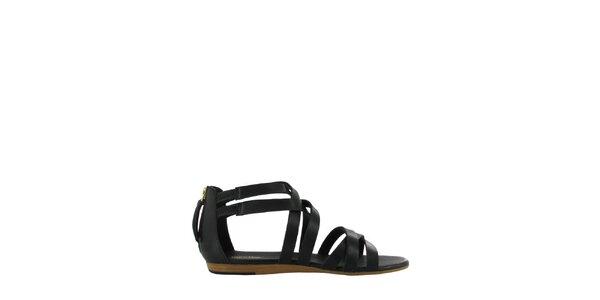 Dámske čierne sandále Flip Flop