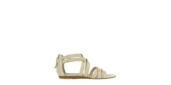 Dámske biele sandále Flip Flop