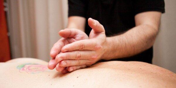Masáž celého tela, chrbta či nôh + gravitačná lavica