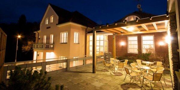 Moderne zariadené apartmány v Luhačoviciach s raňajkami a vstupom do wellness