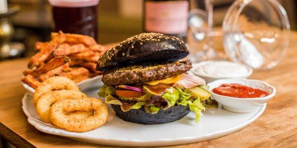 Kráľovské burger menu s 24-karátovým zlatom