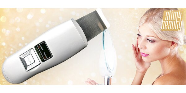 Kozmetický ultrazvukový čistič pleti s doručením