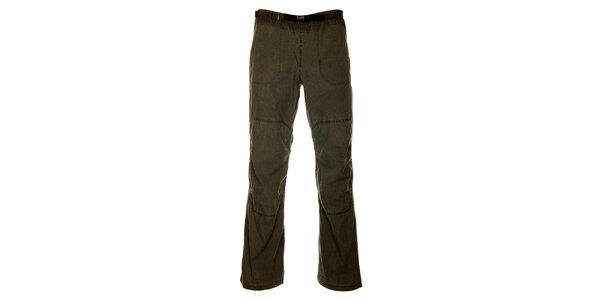 Pánske šedé outdoorové nohavice Hannah