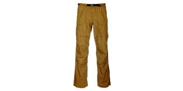 Pánske outdoorové khaki nohavice Hannah