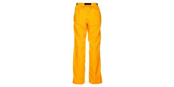 Dámske výrazne žlté outdoorové nohavice Hannah