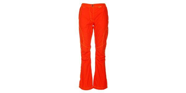 Dámske mandarinkové outdoorové nohavice Hannah