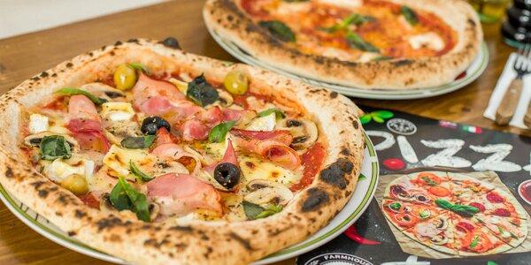 Neapolská pizza + pivo alebo víno
