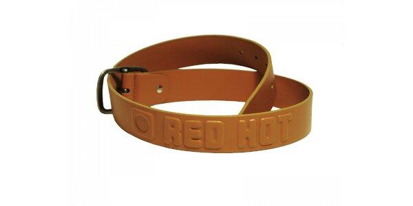 Dámsky ťaví opasok Red Hot s plastickým logom