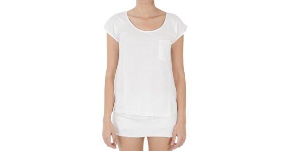 Dámske biele tričko s kapsičkou Women'Secret