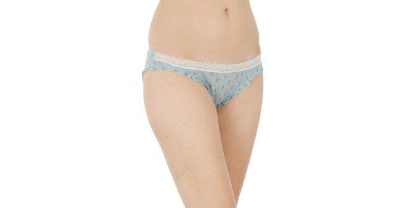Dámske svetlo modré transparentné nohavičky Women'Secret