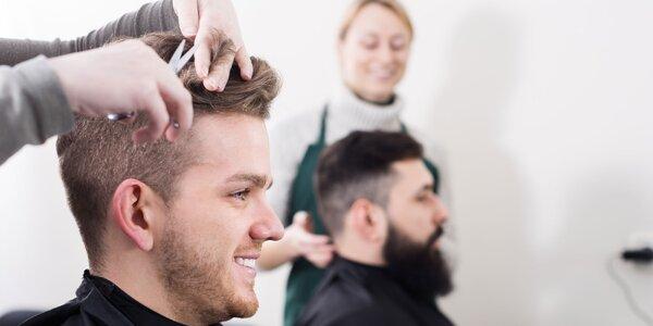 Pánsky strih, úprava brady a špeciálne pánske farby na vlasy