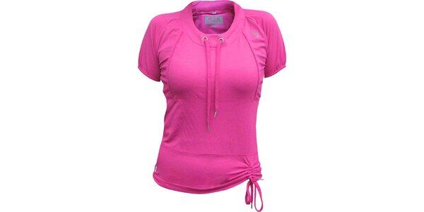 Dámske ružové tričko ALEA