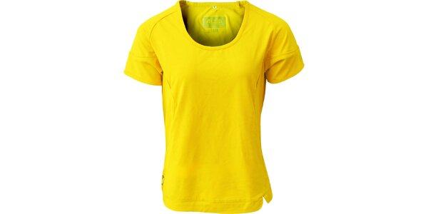 Dámske žlté tričko ALEA
