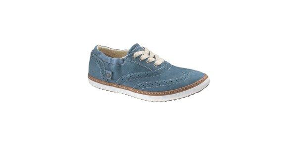 Dámske modré topánky Caterpillar