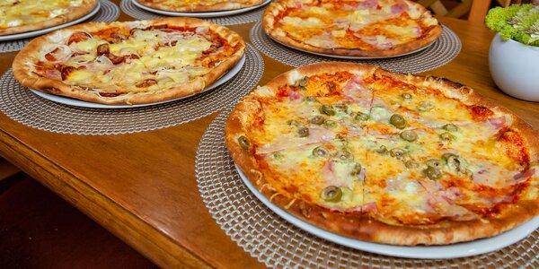 Pizza podľa vlastného výberu zo 7 druhov
