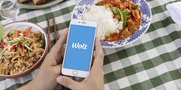 Zľava 7 € na prvý nákup jedla cez aplikáciu Wolt!