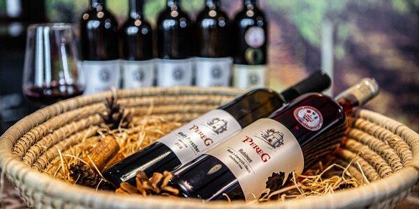 Ochutnávka vín značky Pereg s občerstvením