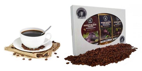 Degustačný balíček 3 druhov káv Mountain Gorilla