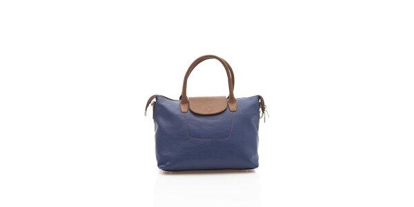 Elegantná dámská kabelka Shambala v modrej farbe