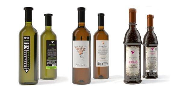 Kvalitné slovenské vína