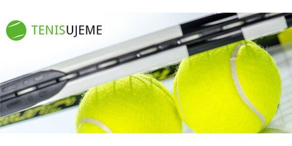 Prenájom tenisového kurtu na 1, 3 alebo 10 hodín