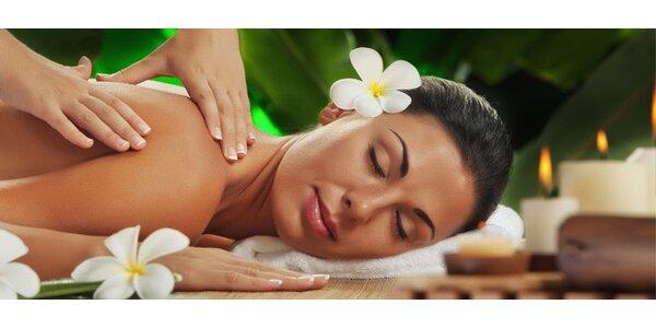 Klasická alebo relaxačná masáž, reflexná masáž chodidiel, bankovanie a zábal
