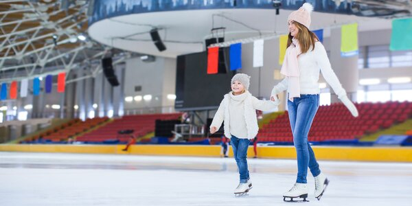 Víkendové kurzy korčuľovania pre deti aj dospelých