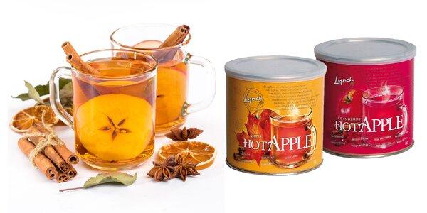 Kanadský instantný nápoj: jablko, hruška, brusnica alebo javor