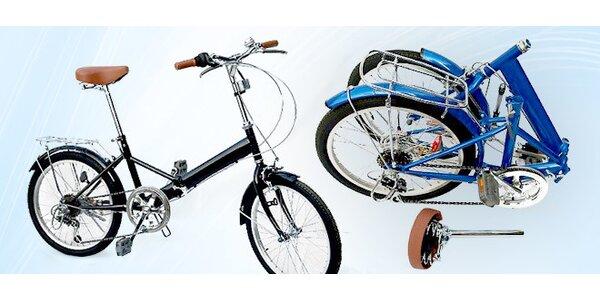 Skladací bicykel so 6-stupňovým prevodom