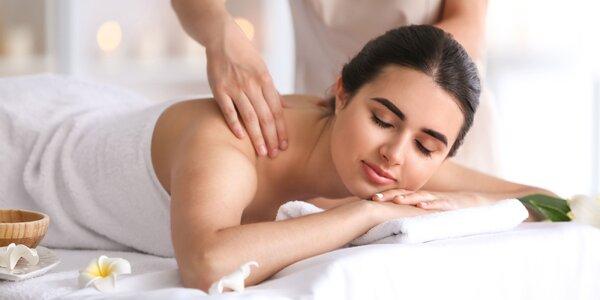 Relaxačná alebo klasická masáž aj s bankovaním