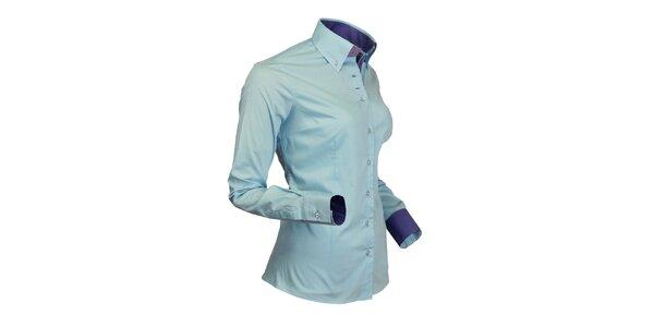 Športová svetlo modrá košeľa Pontto