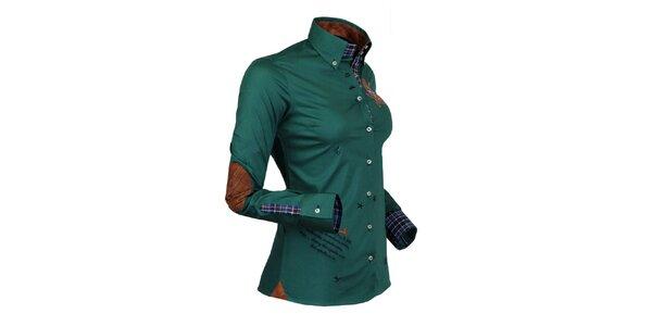 Moderná jachtárska košeľa Pontto
