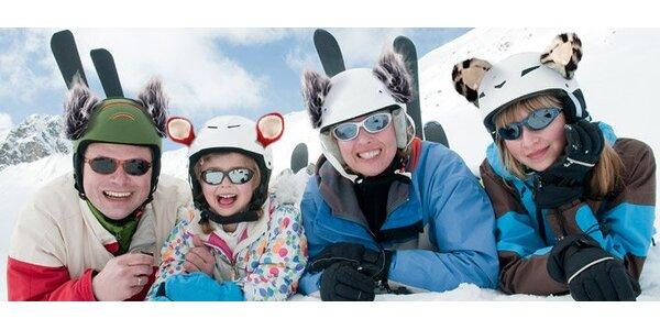 5,99 eur za vtipné ušká na lyžiarsku prilbu