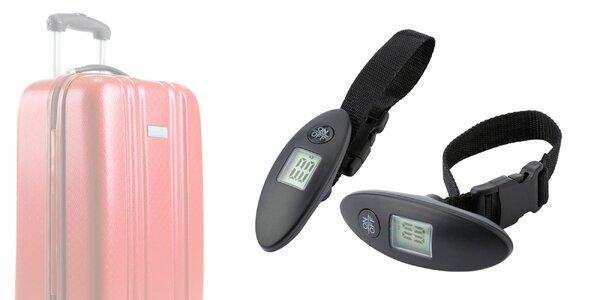 Príručná digitálna váha na batožinu