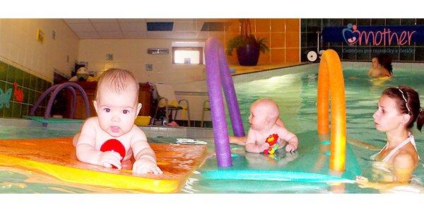 8 lekcií plávania alebo cvičenia pre vás a vaše dieťa