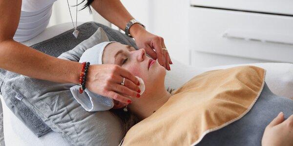 Kozmetické ošetrenie pleti s diagnostikou organizmu