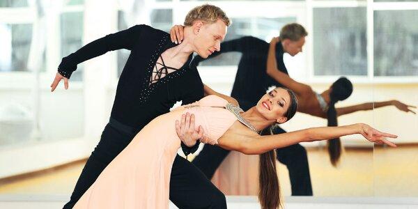 Plesový kurz spoločenských tancov pre dospelých