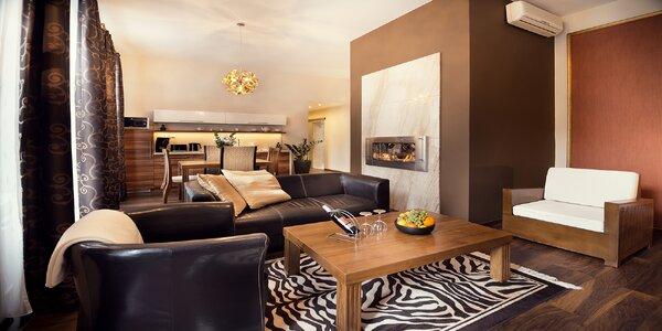 Luxusné apartmány v centre Košíc - chutné raňajky a privátna sauna s vírivkou na izbe