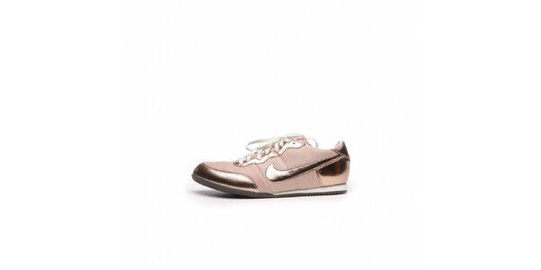 Dámske bronzové tenisky Nike