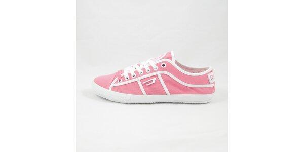 Dámske ružové tenisky Diesel