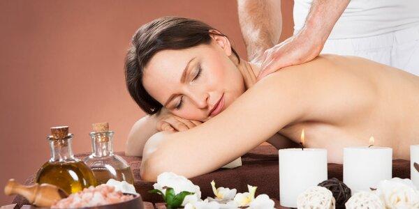 Klasická masáž chrbta či lymfodrenážna masáž